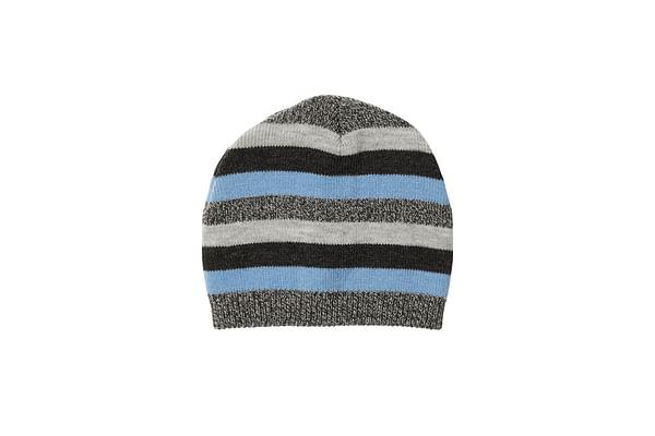 Blue Stripe Magic Beanie Hat