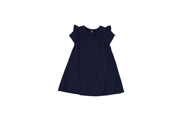 Navy Sparkle Dress