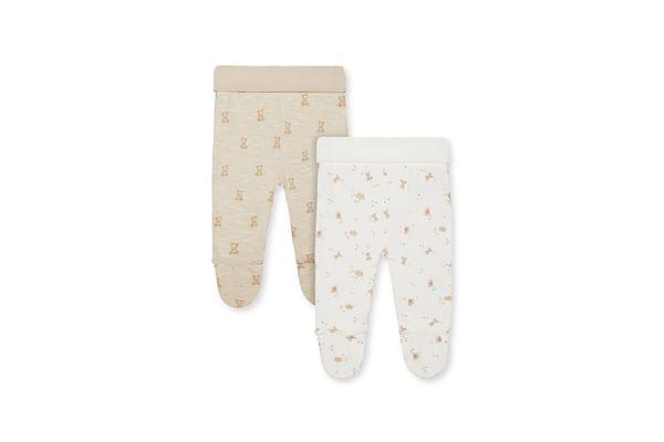 My First Teddy Bear Leggings - 2 Pack