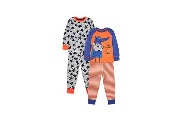Superhero Croc Pyjamas - 2 Pack