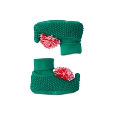 Green Elf Knitted Socktops