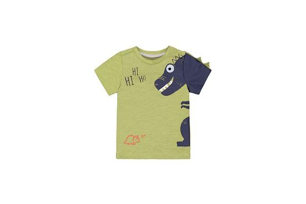 Green Hi Dinosaur T-Shirt