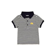 Striped Dino Polo Shirt
