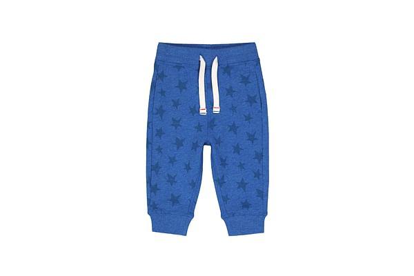 Boys Joggers Star Print - Blue