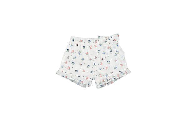 Floral Frilled Shorts