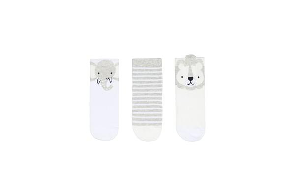 Lion Novelty Socks - 3 Pack