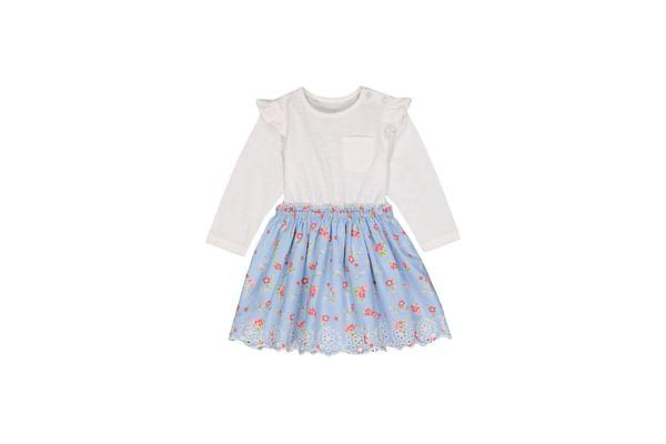 Ditsy Floral Twofer Dress
