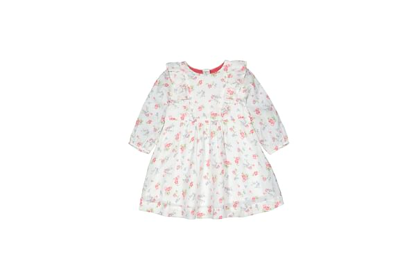 Woven Ditsy Floral Frill Dress
