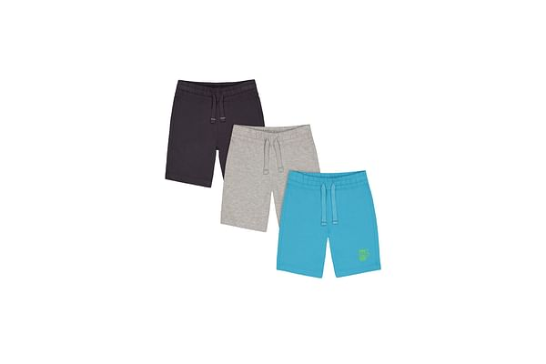 Boys Jersey Shorts - Pack Of 3 - Multicolor