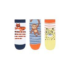 Jungle Animals Socks - 3 Pack
