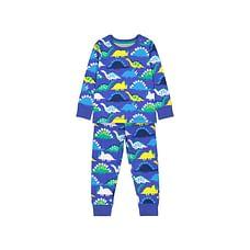 Boys Full Sleeves Pyjamas Vehicle Print - Black