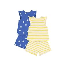 Mothercare Pointelle Vests- 5 Pack