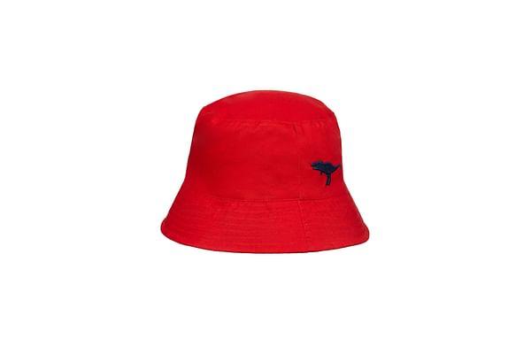 Red Dino Fisherman Sun Hat