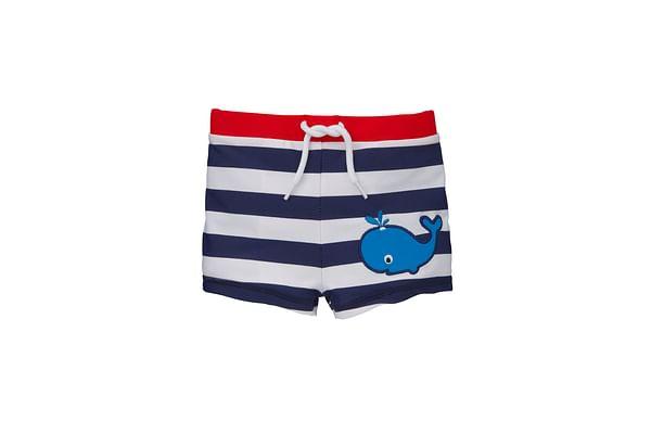 Boys Swimming Trunks Striped - Multicolor