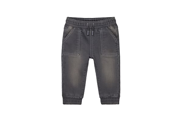 Boys Jeans With Side Pockets - Grey