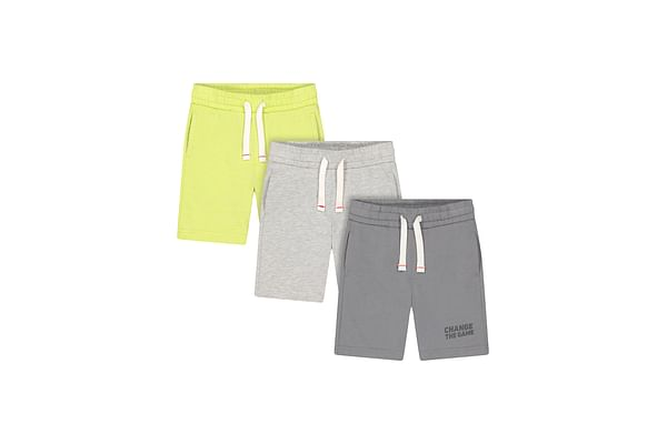 Boys Knitted Shorts - Multicolor