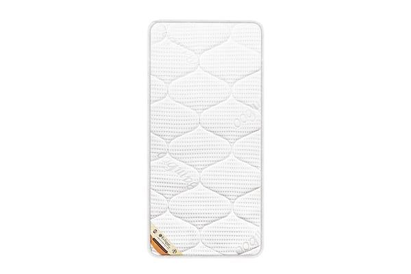 Eclipse Cot Bed Foam Mattress White