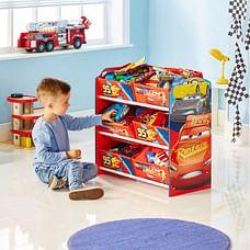 Worlds Apart Disney Cars Kids Toy 471CAA Storage Unit
