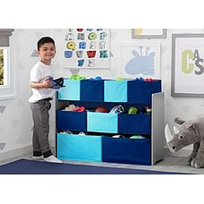 Delta Children Deluxe Toy Organizer Blue