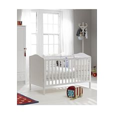 Mothercare Darlington Baby Cot Bed - White