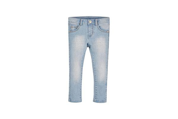 Girls Bleach-Wash Jeans