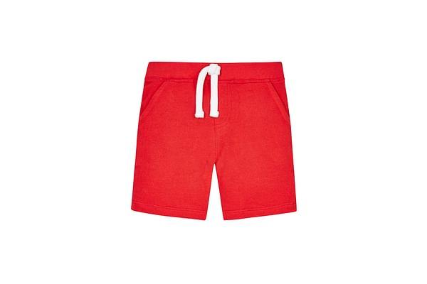 Boys Red Sweat Shorts