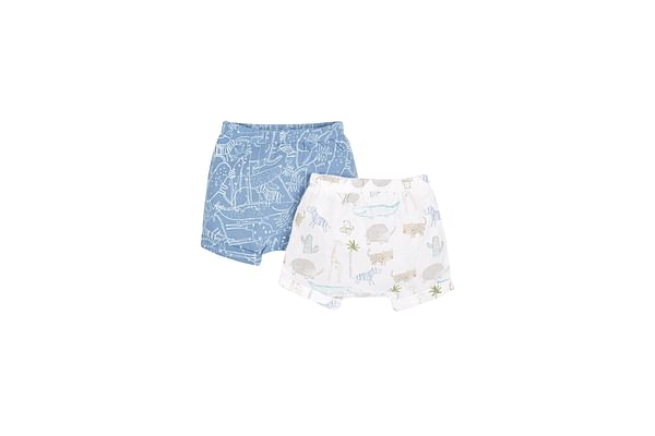 Boys Shorts - Pack Of 2