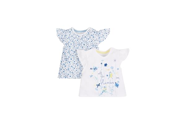 Girls Printed And Graphic T-Shirt - Pack Of 2