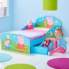 Worlds Apart Peppa Pig Kids Toddler Bed