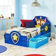 Worlds Apart Paw Patrol Chase Kids Toddler Bed