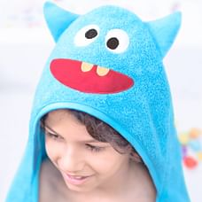Rabitat Monster Hooded Baby Towel