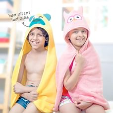 Rabitat Owl Hooded Baby Towel