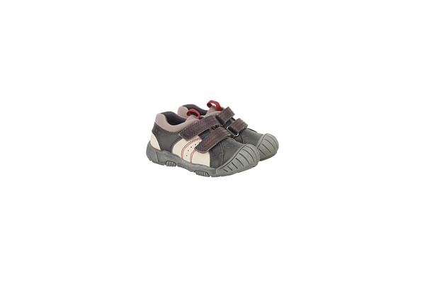 Boys First Walker Shoes - Grey