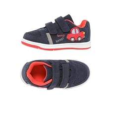 Boys Trainer Shoes Car Design - Navy