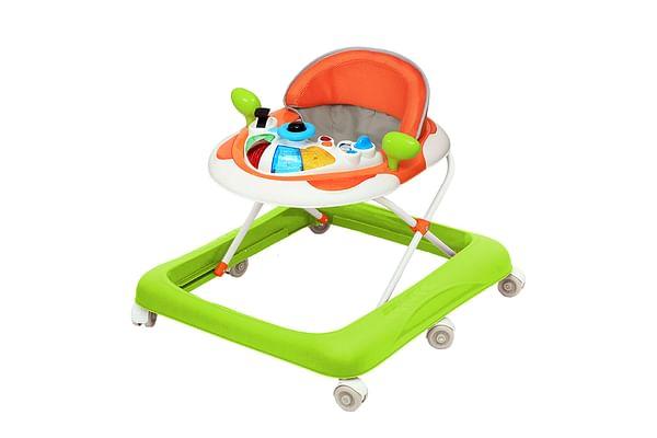 Comdaq Mini Car Music Baby Carriage Orange Green