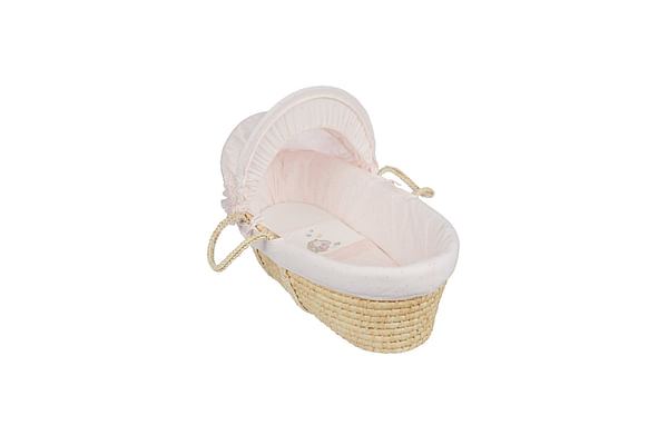 Mothercare Spring Flower Moses Basket Bed Multi