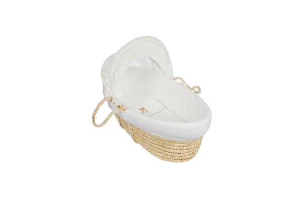 Mothercare Little&Loved Moses Basket Bed Cream