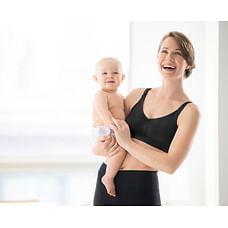 Medela women maternity nursing bra-Black