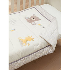 Mothercare Teddy'S Toy Box Cot Bed Quilt
