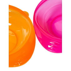 Mothercare First Tastes Weaning Bowls 2 Pack - Pink