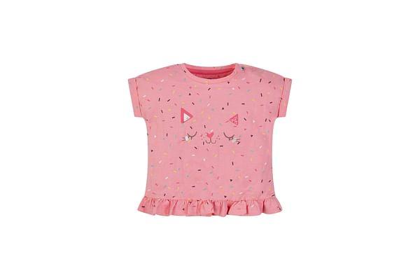 Cat Frill Hem T-Shirt
