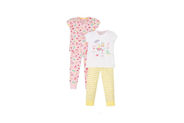 Tropical Bunny Pyjamas - 2 Pack