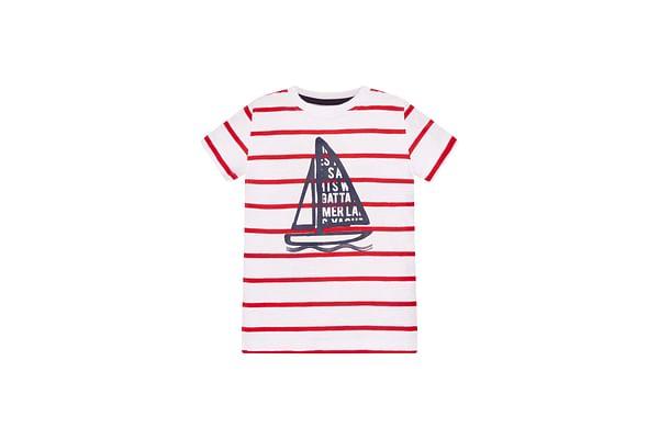 Striped Boat T-Shirt