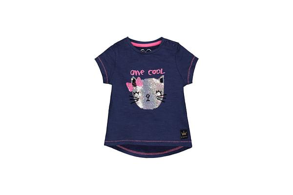 Navy Cool Cat T-Shirt