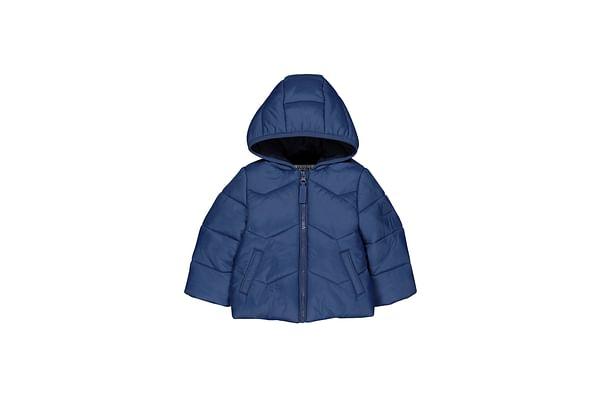 Blue Padded Fleece-Lined Jacket