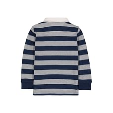 Navy Striped Rugby Top