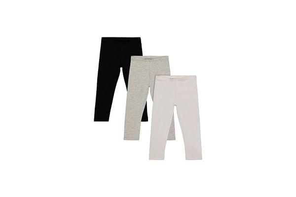 Black, White And Grey Leggings