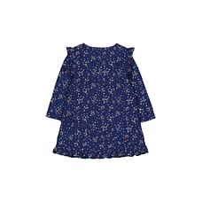 Hearts Navy Dress