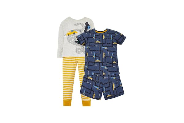 Cars Long And Shortie Pyjamas - 2 Pack
