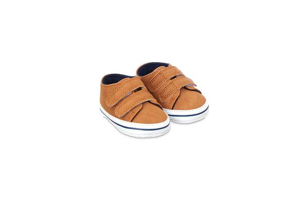 Boys Pram Shoes - Brown